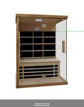 Carbon infravörös kabin kétszemélyes 126 x 92 x 190 cm