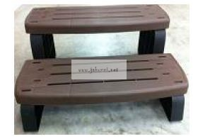 Lépcső 535-2209-BRK Spa wall step assembly Brown