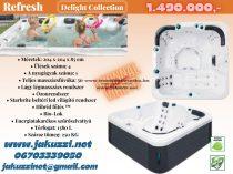 Delight Refresh jakuzzi 204x204x85 cm 5 személyes