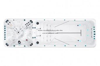 Trendi F Vitality deep jakuzzi 708x228x152 cm